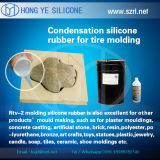 Decrotive Stone MouldingのためのLiquid Silicone Rubberスムーズでに類似した