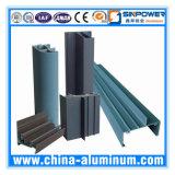 formato standard del tubo quadrato di alluminio 2016 6063 T5, tubo vuoto di alluminio personalizzato di formato/tubo di alluminio