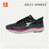 Sports neufs de maille de qualité de type de modèle exécutant les chaussures des femmes de Mens