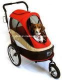 Chariot à animal familier de poussette de chariot de produits d'approvisionnement d'animal familier