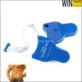 Dispositivo di misurazione personalizzato blu della vita di circonferenza del corpo di forma fisica