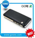 13000mAh 18650 Battery Mobile Powerbank con luz LED