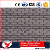 Panneau décoratif ignifuge de mur extérieur de configuration de pierre de culture
