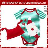 Barboteuse organique de bébé d'impression fait sur commande en gros de Shenzhen