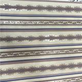 Fabbricato stampato fiore del fabbricato del poliestere di alta qualità