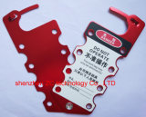 Workers와 Industry의 Keeping Safety를 위한 빨간 Safety Aluminum Hasp Used