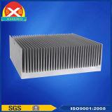Dissipador de calor de alumínio expulso para a fonte da fonte de energia/alimentação