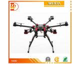 Ailes de propagation de Dji S900 + UAV professionnel de photographie aérienne de Wookong-M + de Zenmuse Z15-Gh4 (HD)