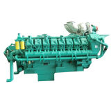 60Hz Googol Natural Gas Diesel Fuel Dual Engine für Generator 320kw-1800kw