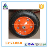 Trolley Wheelbarrow Wheel를 위한 Qingdao Pneumatic 3.00-8 Rubber Tire