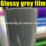 La película gris oscura brillante más nueva del vinilo