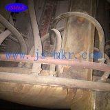 Fornalha usada da freqüência média para o aquecimento que dá forma à barra de aço