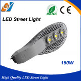 Buena luz de calle al aire libre del alto brillo IP65 LED de la calidad 150W