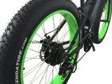 큰 힘 500W 4.0 타이어 전기 눈 바닷가 자전거