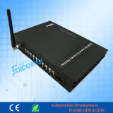 Телефонная система 8 Extenisons Pabx с 1 GSM с удостоверением личности Ms108 звонящего по телефону
