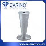 의자와 소파 다리 소파 다리 (J855)를 위한 알루미늄 소파 다리