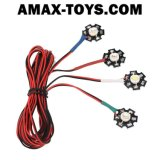 911014-Navigation LED Light System con 7 Operating Modes per Quadcopter Multi-Axis Aircraft