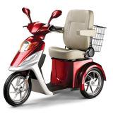 Veículo Handicapped de três rodas com cadeira luxuosa
