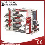 Flexographische Drucken-Hochgeschwindigkeitsmaschine für Farbe 6