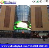 Cartelera al aire libre a todo color de la publicidad de pantalla de Gj P10 LED Viedo