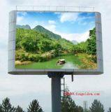 Afficheur LED polychrome de l'IMMERSION P10 extérieur pour la publicité