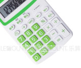 12 Digits Dual Power Pocket Calculator mit Optional En/Jp Tax Function (LC335)