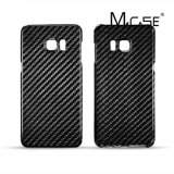 Samsung S6 Edge Plus를 위한 광택 있는 Surface Real Carbon Fiber Back Case