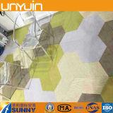 Suelo creativo del PVC del hexágono del nuevo diseño