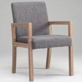 단단한 나무로 되는 직물 실내 장식품 안락 의자 W17033