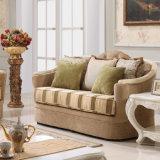 Sofà americano del tessuto dell'oggetto d'antiquariato classico dello strato per il salone