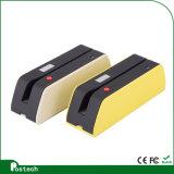 Сочинитель Wirh Bluetooth читателя карточки Hico Magstripe и поверхность стыка USB работают с компьютерами и чернью/таблеткой Msrx6 (BT)