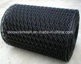 Heiß-Eingetauchte galvanisierte sechseckige Draht-Filetarbeit mit kohlenstoffarmem Stahl
