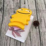 Вспомогательное оборудование iPhone аргументы за мобильного телефона желтого шаржа творческое симпатичное злейшее мягкое (XSF-079)