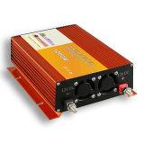 Красный цвет Китая с доработанного решеткой инвертора силы волны синуса 1200W 24VDC 220VAC