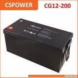 Cg12-200太陽記憶のための深いサイクル12V 200ahのゲル電池
