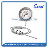 Tubo capilar Termómetro-Todos Ss que encajonan el termómetro llenado Termómetro-Gas