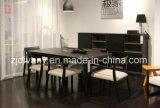 Presidenza di legno della disposizione dei posti a sedere del tessuto del salone europeo di stile (C22)