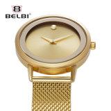 Kwarts van het van Bedrijfs belbi het Eenvoudige Horloge van de Mensen Waterdichte van het Staal