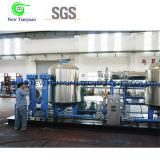 천연 가스 건조용 장비 6000nm3/H 수용량 가스 탈수함 단위