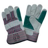 Doubles gants de travail d'isolation thermique de paume/gants résistants coupés d'ouvriers