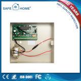 El rectángulo GSM+PSTN del metal se dobla sistema de alarma de ladrón de la red para la seguridad casera (SFL-K2)
