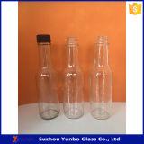 24 tampas pretas do parafuso do milímetro com o orifício do PE para o frasco do molho 5oz