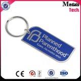 Chaîne porte-clés en métal promotionnel la moins chère avec logo de marque