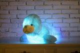 La belle peluche de lueur d'otarie de nuit de peluches créatrices de la lumière DEL joue des cadeaux pour les gosses 28-Inch