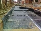 HDPE Geomembraneか黒いプラスチックシートの防水の膜