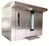 パン屋装置64の皿2のトロリーガス回転式ラックオーブン
