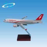 1: 200 aviões modelo Airbus A320 da resina de 18.8cm