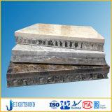 Panneau en aluminium décoratif de nid d'abeilles de marbre et de revêtement de façade de roche