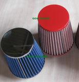 90 Universalität des mm-rote Luftfilter-76mm für Auto-Einlass-Rohr