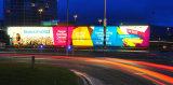 Personalizzare la bandiera materiale della flessione del vinile del PVC Backlit Frontlit per la pubblicità della stampa solvibile di Digitahi del Eco-Solvente emissione della grande o di promozione